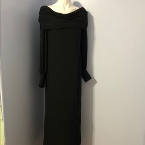 LINDA ALLARD For ELLEN TRACY 100% Silk Maxi Dress